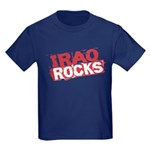 Iraq Rocks Kids Dark T-Shirt