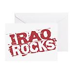 Iraq Rocks Greeting Card