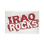 Iraq Rocks Rectangle Magnet