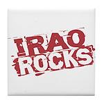 Iraq Rocks Tile Coaster