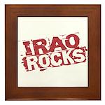 Iraq Rocks Framed Tile