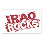Iraq Rocks Rectangle Sticker