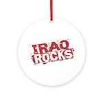 Iraq Rocks Ornament (Round)