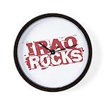 Iraq Rocks Wall Clock