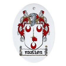 Mullen Coat of Arms Keepsake Ornament