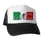 I Love Mexico Trucker Hat