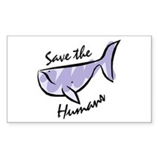 Save the Humans Decal