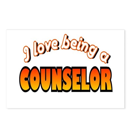 I Love Being A Counselor Postcards (Package of 8)