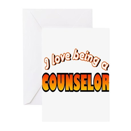 I Love Being A Counselor Greeting Cards (Pk of 10)