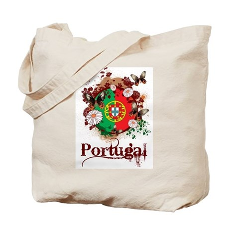 Butterfly Portugal Tote Bag