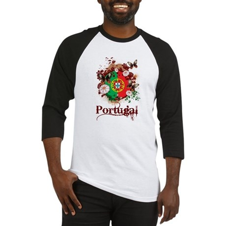 Butterfly Portugal Baseball Jersey