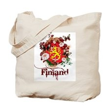 Butterfly Finland Tote Bag