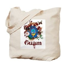 Butterfly Guam Tote Bag