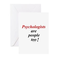 Psychologist people Greeting Cards (Pk of 10)