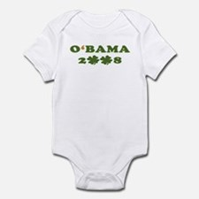 O'BAMA 2008 - Vote Irish Infant Bodysuit