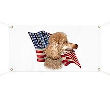 Poodle (Apr) Flag Banner