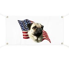 Pug Flag Banner