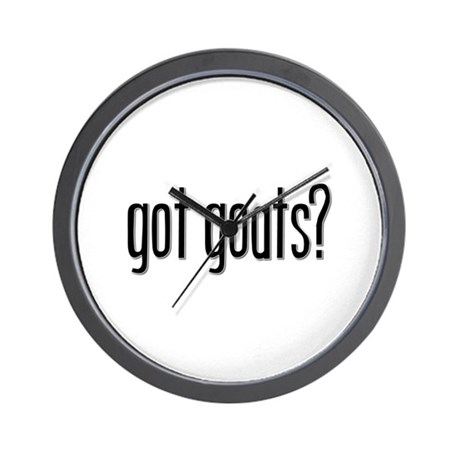 Got Goats? Wall Clock