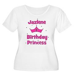 1st Birthday Princess Jazlene T-Shirt