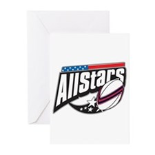 Rugby All Stars Greeting Cards (Pk of 20)