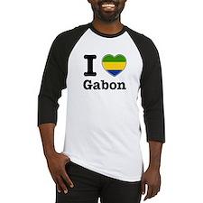 I love Gabon Baseball Jersey