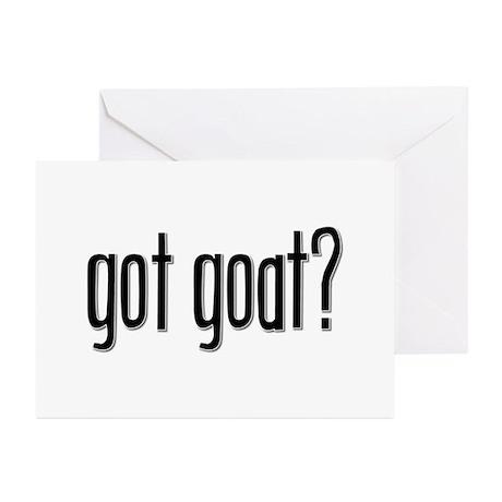 Got Goat? Greeting Cards (Pk of 10)