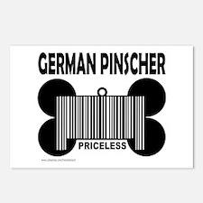 GERMAN PINSCHER PRICELESS Postcards (Package of 8)