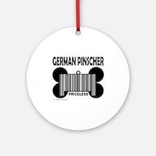GERMAN PINSCHER PRICELESS Ornament (Round)