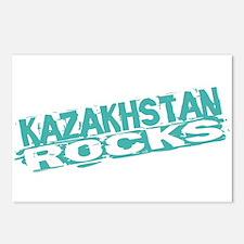 Kazakhstan Rocks Postcards (Package of 8)