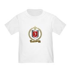 CHARRON Family Crest Toddler T-Shirt