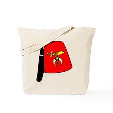 Shriner Fez Tote Bag