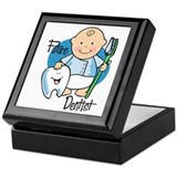 Dentist baby Square Keepsake Boxes