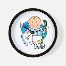 Future Dentist Wall Clock