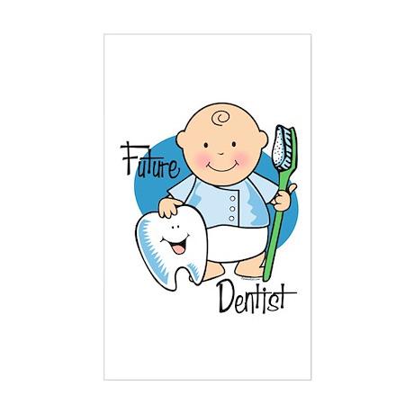 Future Dentist Rectangle Sticker