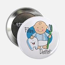 """Future Dentist 2.25"""" Button"""