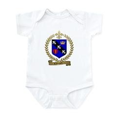 CHENARD Family Crest Infant Creeper