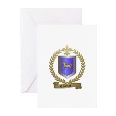 CHEVAL Family Crest Greeting Cards (Pk of 10)