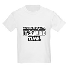 """""""It's Wine Time"""" T-Shirt"""