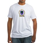 CHIASSON Family Crest Fitted T-Shirt