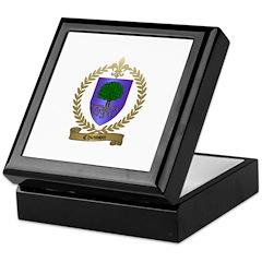 CHIASSON Family Crest Keepsake Box