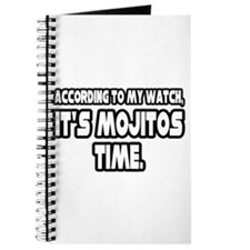 """It's Mojitos Time"" Journal"