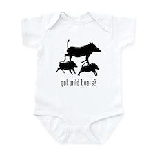 Wild Boars Infant Bodysuit
