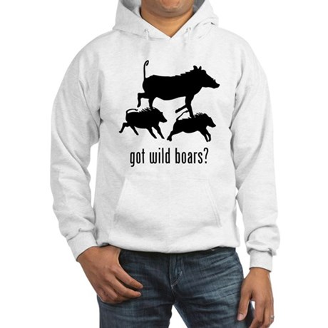 Wild Boars Hooded Sweatshirt