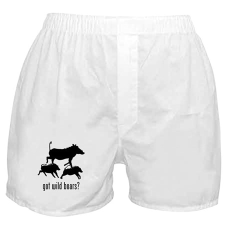 Wild Boars Boxer Shorts