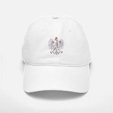 Polish White Eagle Baseball Baseball Cap