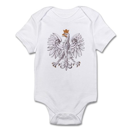Polish White Eagle Infant Bodysuit