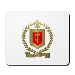 CHOLETTE Family Crest Mousepad