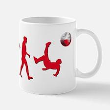 Poland Football evolution Mug