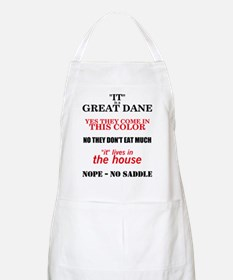Great Dane Walking Answers BBQ Apron