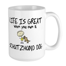 Life is Great Schutzhund Mug